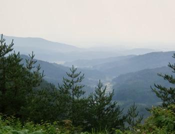 山並み風景